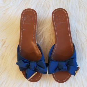 208a5ac5de625d Tory Burch Shoes - Tory Burch bow cork wedges